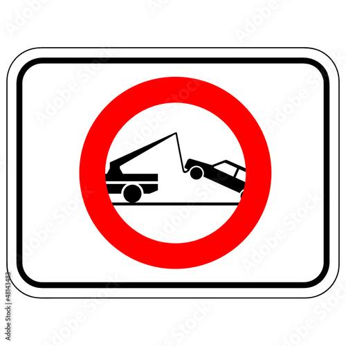 parken verboten abschleppdienst t tig stockfotos und. Black Bedroom Furniture Sets. Home Design Ideas