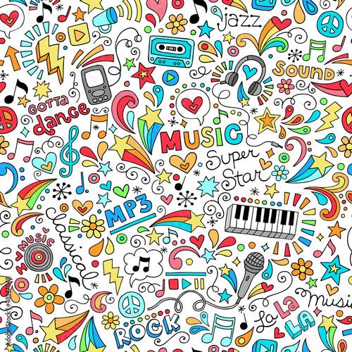 notebook doodle pattern sm - 48147048