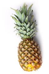 ripe beautiful pineapple as symbol season collection harvest