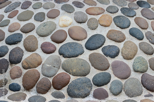 background from different round stones