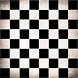 Grunge checker board