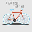 Customized your fixie 1