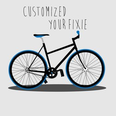 Customized your fixie 2