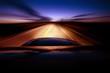 Leinwandbild Motiv Night Ride