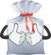 A pouch bag