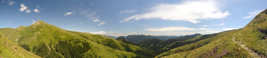 Panorama Val Cavargna