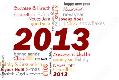 cloud 2013 happy new year