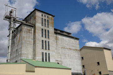 France, a silo in Les Yvelines