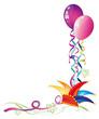 Luftballons, Karneval, Fasching, Rosenmontag