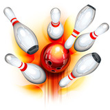 Bowling game (top view)
