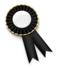 Médaille sur fond blanc 2