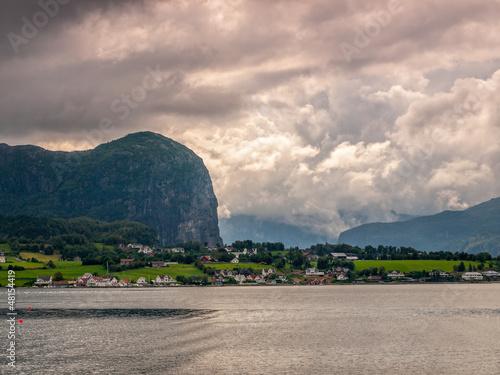 Lysefjord Fjord in Norway.
