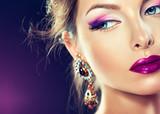 Fototapete Makeup - Zusammenstellen - Frau