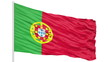 Looping of the Portugal flag