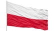 Looping of the Poland flag