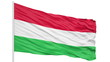 Looping of the Hungary flag