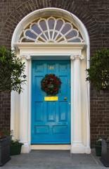 Colored doors of Dublin
