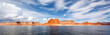 panoramic view of famous lake Powell