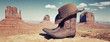 panoramic boots and hat - 48157852