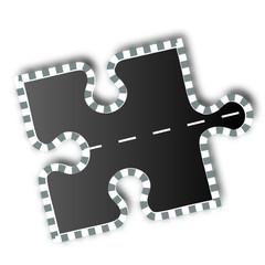 puzzle teile street