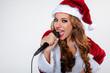 singende weihnachtsfrau 2