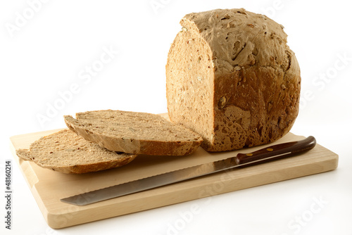 Seven cereals bread with mixed seeds