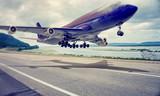 Fototapeta powietrze - Airbus - Samolot