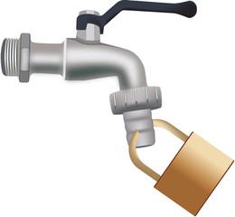 rubinetto chiuso