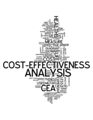 "Word Cloud ""Cost-Effectiveness Analysis"""