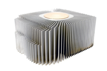 Aluminum cpu cooler heatsink
