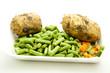 Bohnen und Kartoffeln