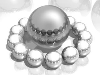 Composition of the balls