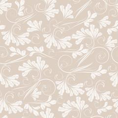 Seamless floral background. Vector illustration.