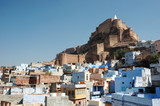 Blue city of Jodhpur and Mehrangarh Fort,Rajasthan,India