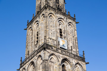 Martini tower of Dutch city Groningen