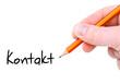Kontakt / Handschrift