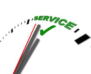 Service, uhr