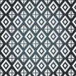 Texture of rhombus on a gray background