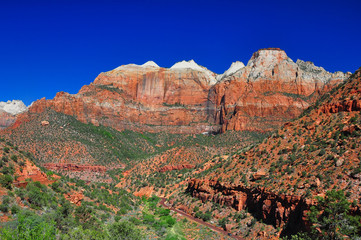 Breathtaking view of Zion National Park.