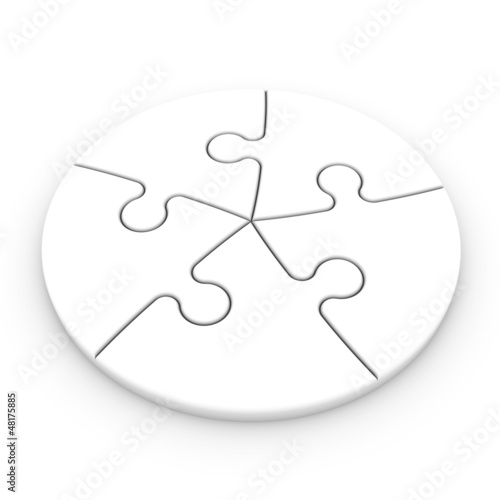 puzzle pieces to place concepts