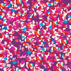 cool confetti abstract seamless background
