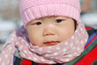 Hat scarf Chinese girl