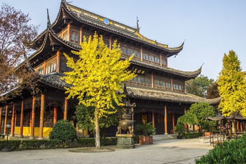 Quanfu Buddhist Temple in Zhouzhuang China