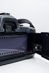 Analoge Spiegelreflexkamera