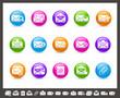 E-mail Icons // Rainbow Series
