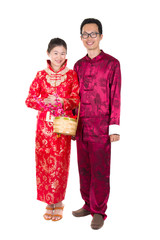 chinese new year couple