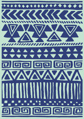 Native Textile Pattern