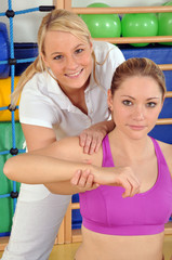 Physiotherapeutische Behandlung