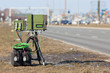 road and speed camera