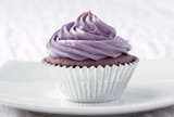 Eatable taro cupcake ready to serve for you poster